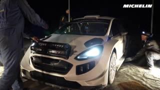 Ogier testing - 2017  WRC Rallye Monte-Carlo - Michelin Motorsport
