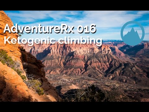 AdventureRx 016 | Ketogenic climbing | type 1 diabetes | LCHF diet