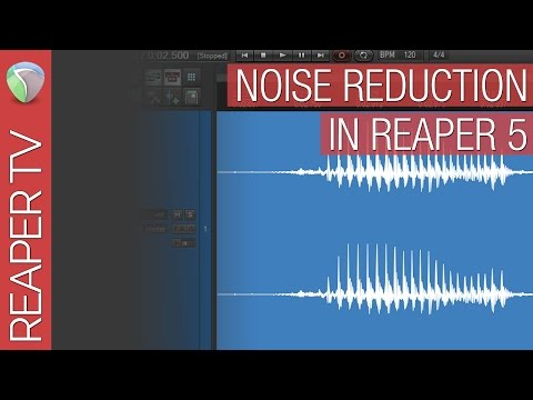 Clean Up Noisy Audio in Reaper for Free.