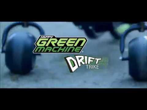 Smyths Toys - Huffy Green Machine Drift Trike