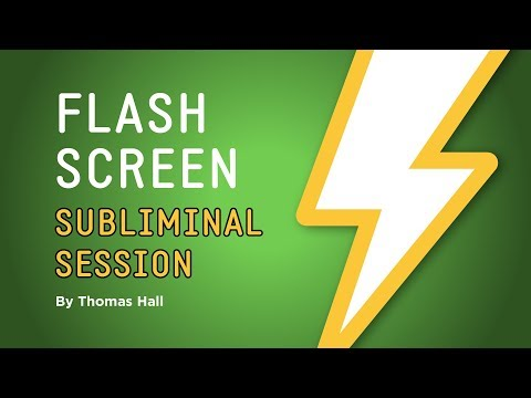 Reprogram Your Mind to Enjoy Exercise - Flash Screen Subliminal Session - By Thomas Hall