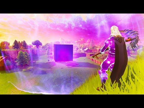 The GIANT CUBE in Fortnite ACTIVATED! (NEW CHANGES)