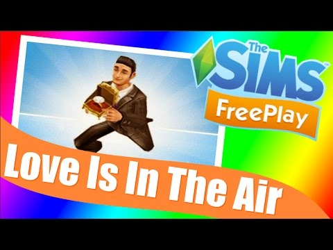 Sims Freeplay | Love Is In The Air Quest Walkthrough & Tutorial