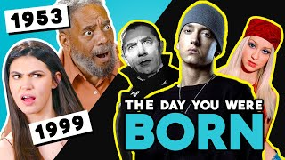 Generations React To The Day They Were Born (#1 Movies, Insane Gas Prices & MORE!)