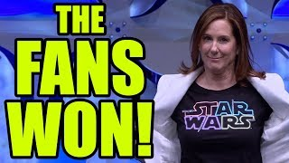 Download THE FANS WON! Lucasfilm has been defeated! Video