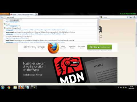 How To Set Home Page On Mozilla Firefox