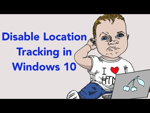 How to turn off location tracking in windows 10