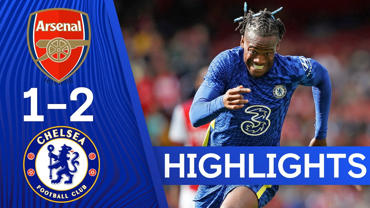 Arsenal 1-2 Chelsea   Havertz & Abraham Find The Net As Blues Win London Derby!   Highlights