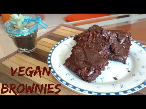 Fudgy Vegan Brownies - Amazing!