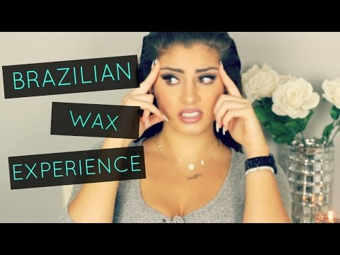 MY BRAZILIAN WAXING EXPERIENCE| Nazanin Kavari♡