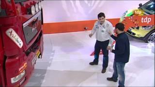Manuel Borrero En Teledeporte Con Su Camión Dakar