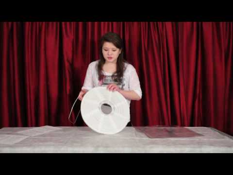 How to assemble a paper lantern for your home, a wedding or event, version 2