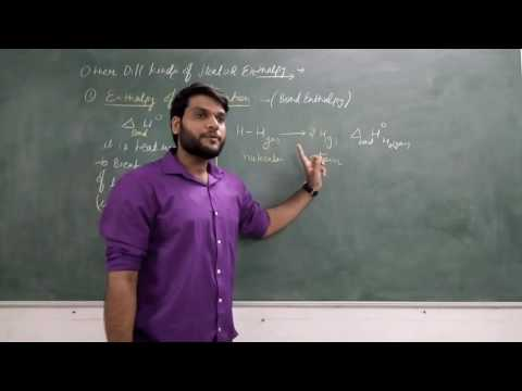 IIT/JEE Enthalpy of Dissociation(Bond Energy) /Phase Change/Atomization. Thermo Chemistry(Part-29)