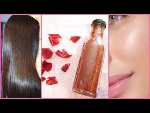 DIY Rose Water For Fair, Glowing, Spotless Skin│Shiny, Long Thick Hair │How Make Rose Water at Home!
