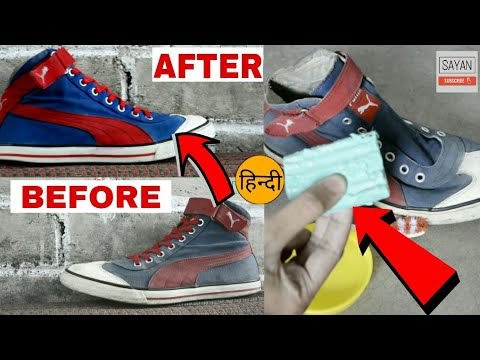 How To Paint, Renew, Custom Your Shoes   DIY   HINDI   At Home