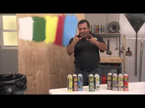 Flex Seal® Colors Versus Spray Paint | Flex Seal®