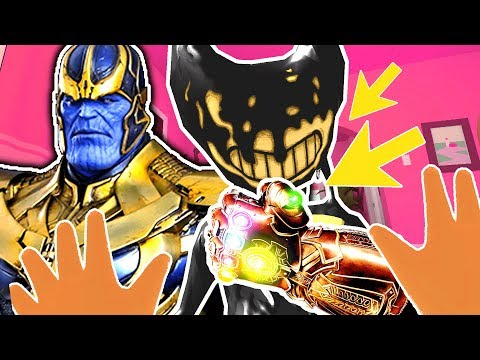 BABY & THANOS TEAM UP AGAINST BENDY'S INFINITY GAUNTLET | Baby Hands VR (Lets Play HTC Vive Gameplay