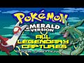 Pokemon Emerald: ALL Legendary Pokemon Locations!!