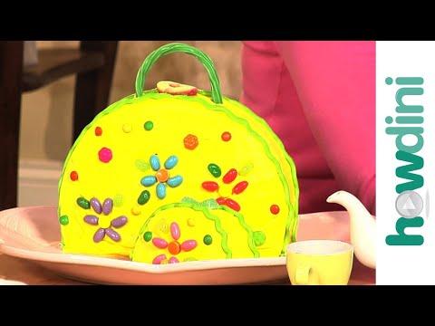 Birthday Cake Ideas: How to Make a Purse Cake