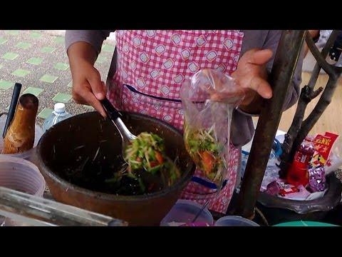 Thai Spicy Papaya Salad Bangkok Som Tum
