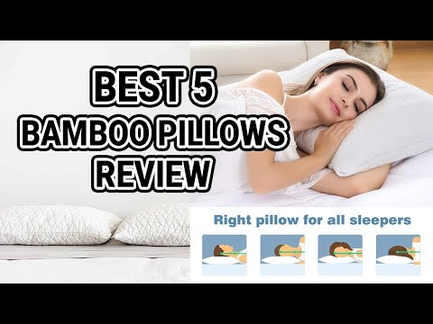 Best 5 Bamboo Pillows Review in 2018