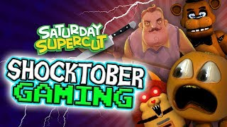 Annoying Orange - Best Shocktober Horror Gaming!!!