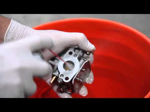 Coleman 5hp Outboard Motor Carburetor cleaning