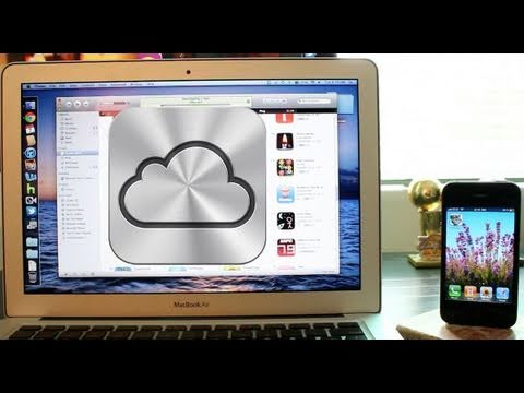 iCloud Demo with iTunes and iPhone