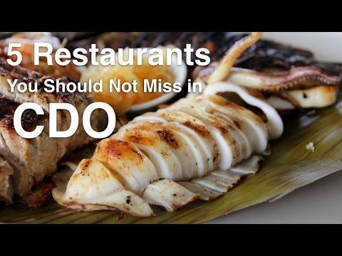 5 Restaurants You Should Not Miss in CDO