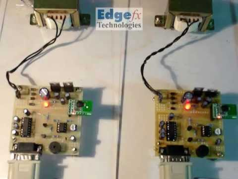 Wireless Message Communication Between Two Computers   8051 Projects
