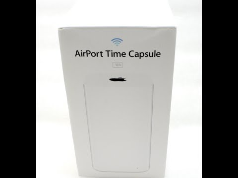 How to reset your Apple Airport Time Capsule to factory settings