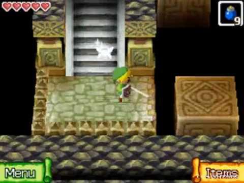 The Legend of Zelda Phantom Hourglass Walkthrough -The Temple of Courage- Part 17