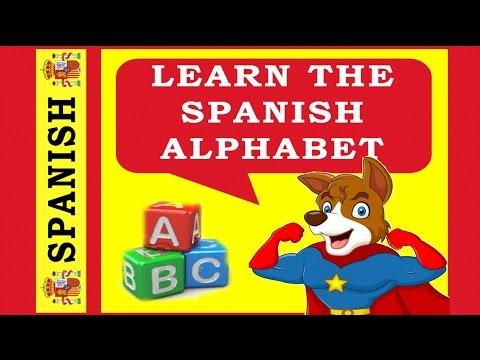 Spanish Alphabet Pronunciation - For Beginners