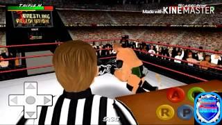 Raw Vs Smackdown 10 Man Battle Royal - Wrestling Revolution 3D