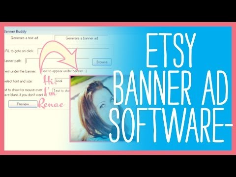 Etsy Banner Ad Software for Your Etsy Shop