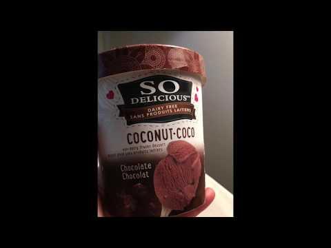 So Delicious Non-Dairy Frozen Dessert•Coconut Chocolate *Review* 🇨🇦