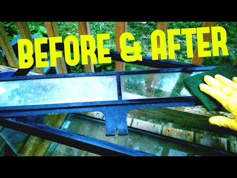 Aquarium Fish Tank Setup Part 1: Cleaning Hard Water Stains With Vinegar