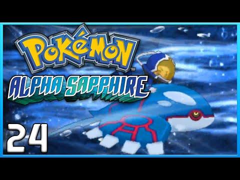 Pokemon Alpha Sapphire Part 24 - Kyogre Primal Reversion ORAS Gameplay Walkthrough