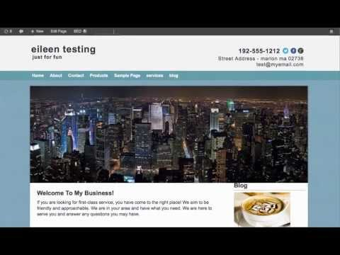 How to Upload a Textured Background Image | SmallBiz Responsive Theme | WordPress