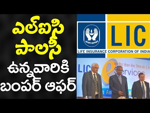 BUMPER OFFER for People With LIC Policy   Latest Government Updates   VTube Telugu