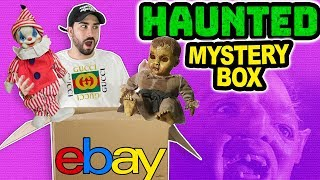 Haunted $5,000 Mystery Box (GHOSTS CAUGHT ON CAMERA)
