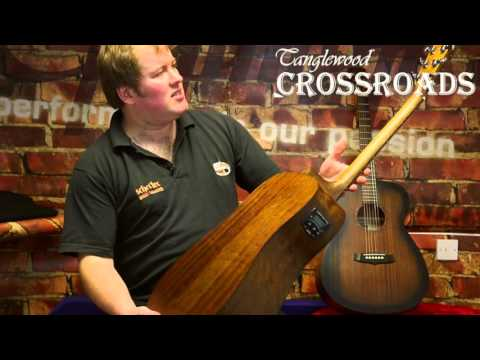 Tanglewood Crossroads Acoustic Guitars | PMTVUK