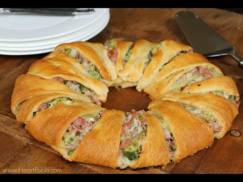 Broccoli, Ham & Cheese Ring