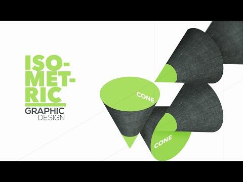 Graphic Design - Adobe Illustrator/Photoshop - Isometric Cone