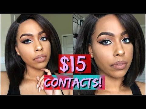 $15 Colored Contacts!   Siesta Contacts    3 Colors   colorcl.com