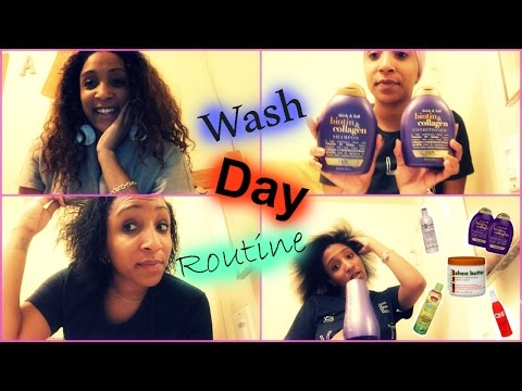 Wash Day Routine | Texturized/ Texlaxed Hair
