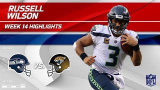Russell Wilson Highlights | Seahawks vs. Jaguars | Wk 14 Player Highlights