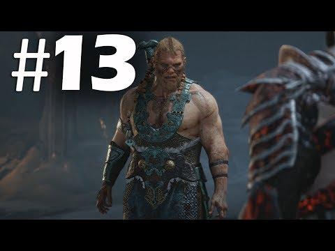 God of War (2018) Gameplay Walkthrough Part 13 - Magni and Modi - PS4 Pro 4K