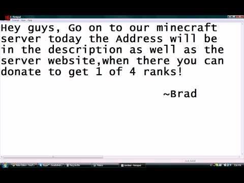 Minecraft Hunger Games Server