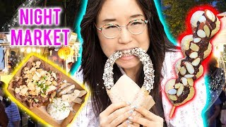 Download KOREAN NIGHT MARKET ▲ ft Skewered Rice Cakes Video